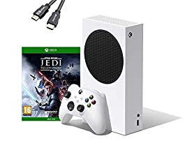 【Next-gen performance in the smallest Xbox console ever】Introducing the Xbox Series S, the smallest, sleekest Xbox console ever. Experience the speed and performance of a next-gen all-digital console at an accessible price point 【Amazing features in ...