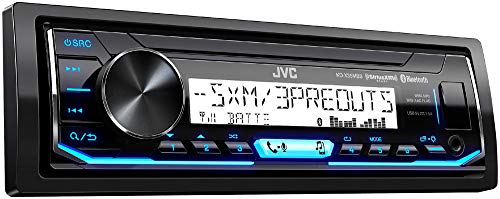 JVC KD-X35MBS Single DIN SiriusXM Bluetooth in-Dash Digital Media Marine Stereo Receiver w/Pandora Control