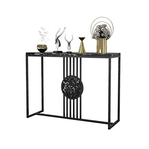 Living Room Furniture YAQ-Muebles de Oficina Tables Hotel Consola for Pasillo Delgado y Moderno Simplicidad de Entrada Gabinete Sala Decoración del rectángulo mesas de mármol Mesas de Pedestal