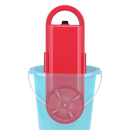 ZQY draagbare mini-vliegenwasmachine en elektrische wasmachine voor buitengebruik, voor losse reizen, rood