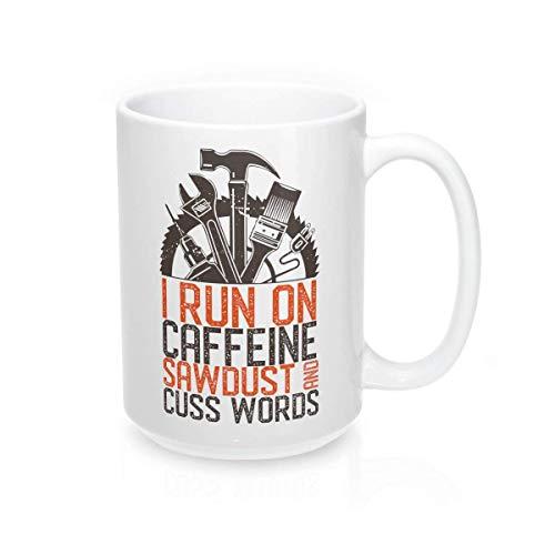 Taza de café para hombre, diseño de hombre divertido, para hombre, diseño de hombre