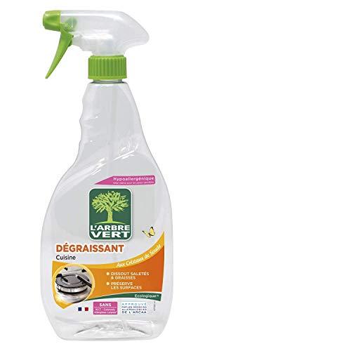 L'Arbre Vert - Spray Cuisine Dégraissant - 740 ml, Modèle aléatoire