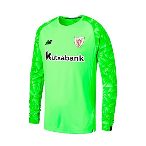 New Balance AC Bilbao Segunda Equipación Portero 2020-2021, Camiseta, Fluor Green, Talla...