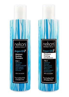 Moisture Healing Shampoo & Conditioner Set - 6.7oz (Twin Pack)