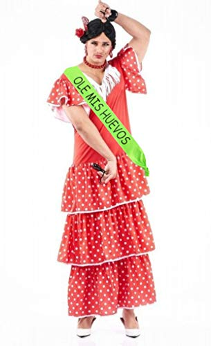 Disfraz de Sevillana Hombre - Despedidas de soltero