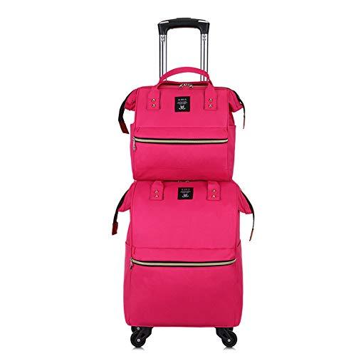 Oxford doek koffer, trolley tas, mode schoudertas, draagbare lichtgewicht schoudertas, kan board, koffer, grote capaciteit, afneembaar, 50L, 4Kg