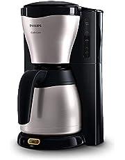 Philips Kaffebryggare Café Gaia - Smart lås på termoskanna för att bevara arom - Rik kaffesmak - Termoskanna med dubbla väggar i rostfritt stål - Droppstopp - Kabelförvaringsutrymme - HD7546/20