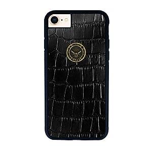 GAZZI iPhone 8, iPhone 7 Hülle Case Schale BackCover Lederhülle Handyhülle Schutzhülle Echt Leder, Rundumschutz…