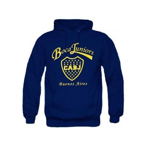 969620bf524 Argentina Boca Juniors Crest Hoodie