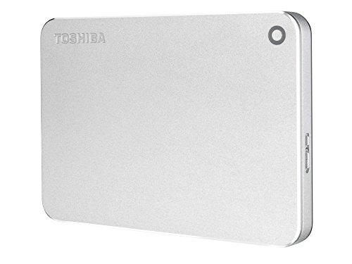 Toshiba Canvio Premium - Portable Disco Duro Externo 2.5 USB 3.0 (3 TB) Color Plata miniatura