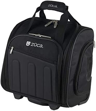 Zuca Skipper Compact Wheeled Bag with Telescoping Handle Laptop Compartment and Zippered Pockets product image