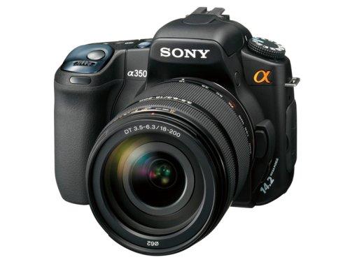ソニー SONY デジタル一眼レフカメラHズームレンズキット α350 高倍率ズームキット DSLR-A350H