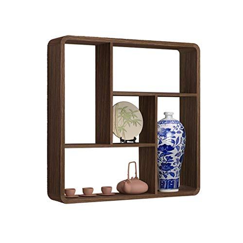 Dongyd Dekoratives Regal-Wand-hängendes Verkaufsmöbel-Holzrahmen kreativ
