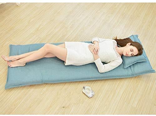 GWZSX Sofá plegable perezoso sofá perezoso sofá estilo europeo silla de piso extraíble sofá perezoso dormitorio reclinable cama respaldo silla - A