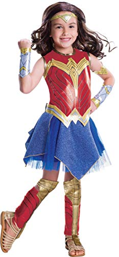 Wonder Woman Justice League Movie Deluxe Costume Child Medium