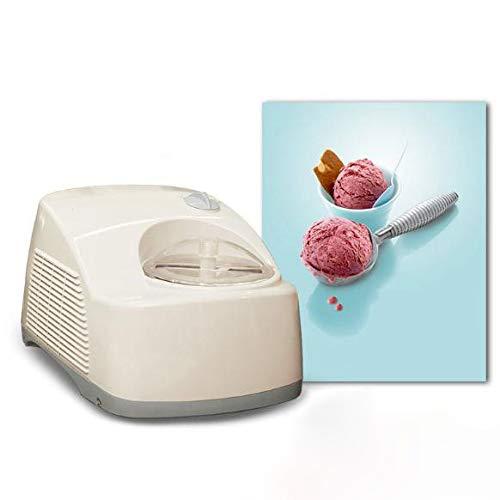 Great Price! LMAYMM 1.2 Liter Homemade Ice Cream Machine, Frozen Yogurt Machine, Stainless Steel Mix...