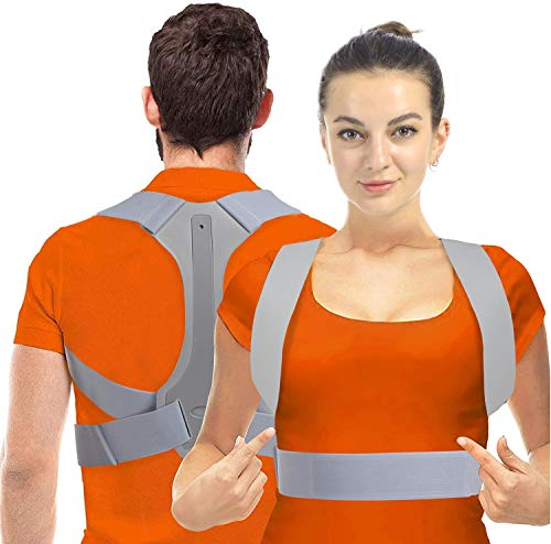 Haltungskorrektur HOPAI Geradehalter zur Haltungskorrektur Rückentrainer Schulter Rückenstütze, Schultergurt gegen Nacken -und Schulterschmerzen für gerader Rücken für Damen Herren Brand Name: HOPAI
