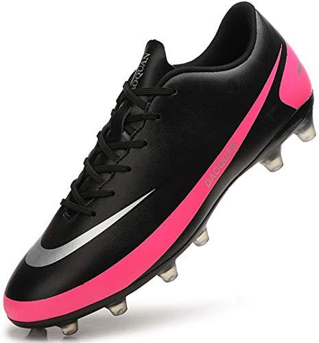 DimaiGlobal Zapatillas de Fútbol Hombre Profesionales Training Botas de Fútbol Spike Aire Libre Atletismo Zapatos de Entrenamiento Zapatos de Deporte
