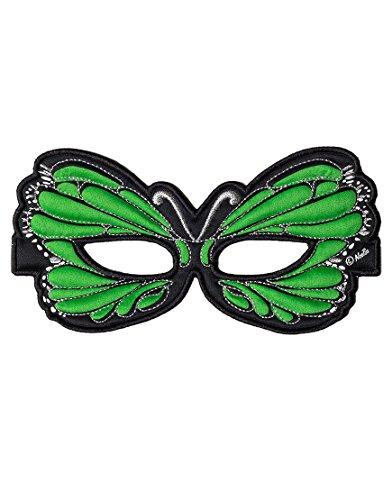 Dreamy Dress-Ups 50756 Mask, Green Butterfly (masque en tissu, papillon, vert)