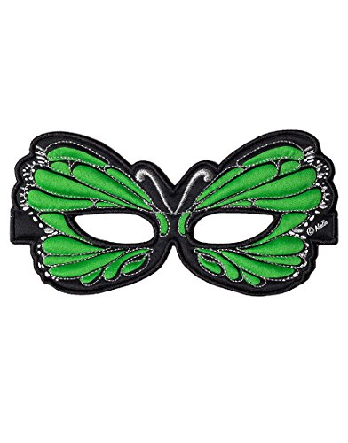 Dreamy Dress-Ups 50756 Mask, Green Butterfly (masque en tissu, papillon, vert)