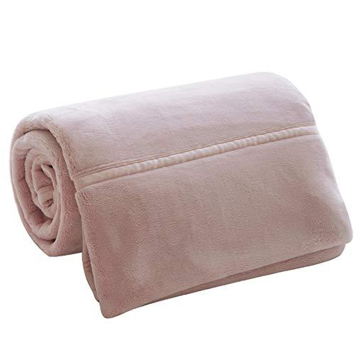 LJHSS Flanell Fleecedecke Kuscheldecke Heimdecke, extra Dicke warm Sofadecke/Couchdecke in zweiseitig, super flausch Fleecedecke als Sofaüberwurf oder Wohnzimmerdecke (Color : 4, Size : 200X230cm)