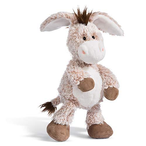 NICI Kuscheltier Esel 35 cm – Esel Plüschtier für Mädchen, Jungen & Babys – Flauschiger Stofftier Esel zum Kuscheln, Spielen und Schlafen – Gemütliches Schmusetier – ab 12 Monaten – 44935
