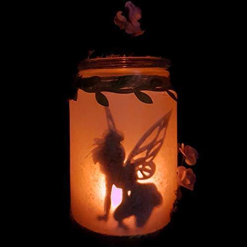 Lampara mesita de noche Campanilla, luz quitamiedos