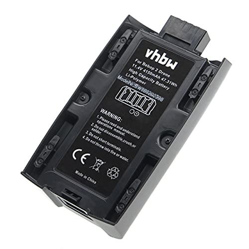 vhbw Batteria Compatibile con Parrot Bebop 2 Power Drone quadricottero multicottero (4150mAh, 11,4V, Li-Poly)