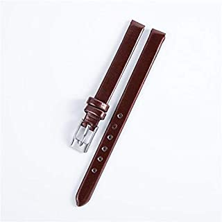 JINN - Watchbands - High Quality Genuine Leather Watchbands 8mm for Women's Watches Watch Accessories Thin Watch Strap Wri...