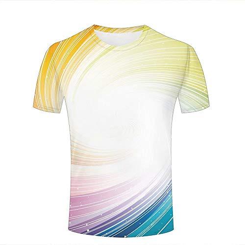 SHUAIFA - Camisetas unisex con impresión 3D