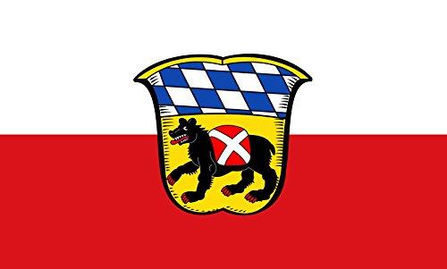 Unbekannt magFlags Tisch-Fahne/Tisch-Flagge: Freising, GKSt 15x25cm inkl. Tisch-Ständer
