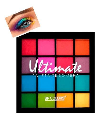 Paleta de Sombra 16 Cores Ultimate - SP COLORS