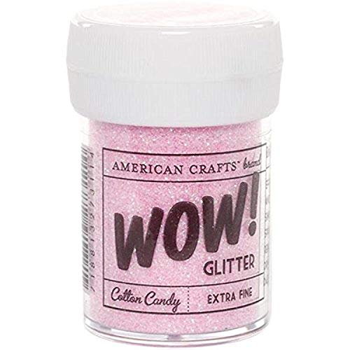American Crafts Bubblegum – Paillettes Extra Fine, Acrylique, Multicolore