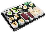 Rainbow Socks - Femmes Hommes - Sushi Chaussettes Butterfish Tamago Thon 2x Maki - 5 Paires - Taille UE 41-46