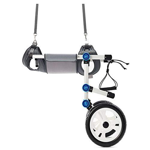 YANGQI verstelbare hond rolstoel, achterpoten rehabilitatie, gratis buik band beschermen wervelkolom, gratis lease, 6 modellen zijn beschikbaar