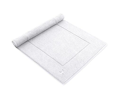 möve New Essential Badteppich 60 x 60 cm aus 100% Baumwolle, snow