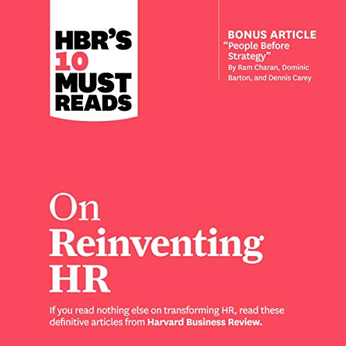 HBR's 10 Must Reads on Reinventing HR cover art