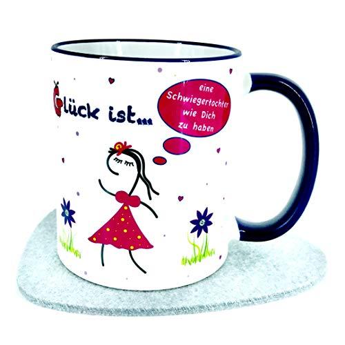 Schwiegertochter Geschenke Tasse