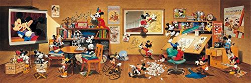 950ピース ジグソーパズル ディズニー 90周年 歴代ミッキーマウス大集合! (34x102cm)