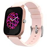 PowerLocus Smartwatch Activity Tracker, Waterproof Smartwatch with Heart Rate Monitor, Pedometer, Bluetooth, Sports Activities, Sleep Tracker for iOS, Android etc. (Gold)