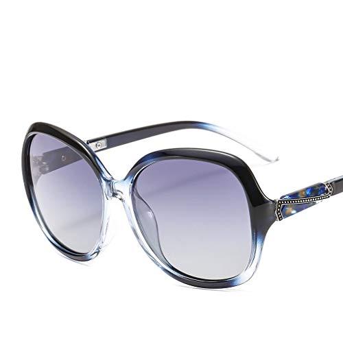 Fashion Big Box glazen rijden gepolariseerd licht rijden spiegel schaduw retro zonnebril zonnebril 7208