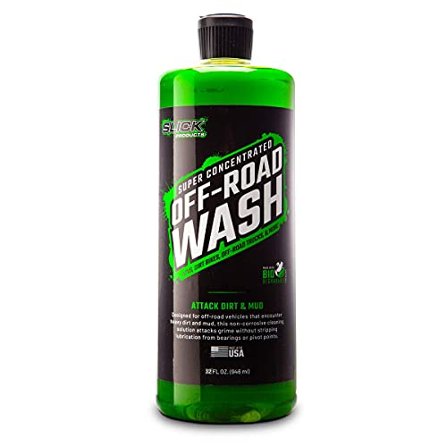 Slick Products 32 Oz. Off Road Wash Super Concentrated Cleaning Solution - Exterior Non Corrosive...