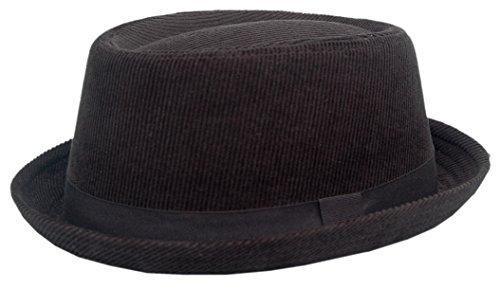 Cool4 CORD PORK PIE HUT VINTAGE SKA Porkpie Hat Rocky Breaking Bad Hackman Cap PP06 (59)
