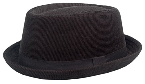 Cool4 CORD PORK PIE HUT VINTAGE SKA Porkpie Hat Rocky Breaking Bad Hackman Cap PP06 (59)