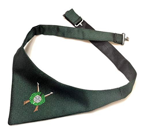 ADAMANT® Schützen-Triangel-Fliege mit Schützenscheiben Motiv Schützenscheibe in Dunkelgrün