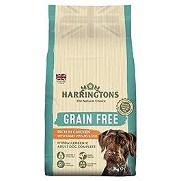 Harringtons Grain Free Chicken & Sweet Potato Dog Food (2kg) (May Vary)