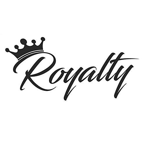 Royalty Sticker Crown Racing JDM Lustiges Driftauto WRX Fensteraufkleber