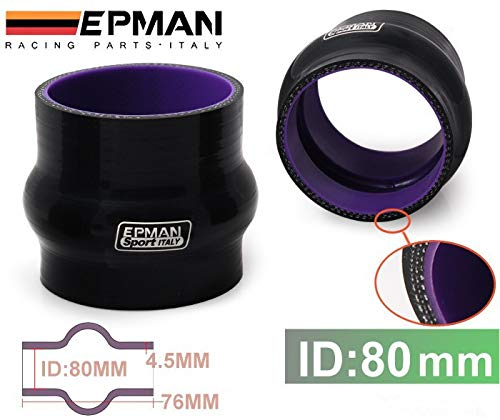 Epman High Temp Reinforced Silicone Hump Coupler Hose for Ford FOCUS 1.8/2.0/ for DURATEC/for MAZDA MZR TK-SSTF80