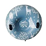 Earlyad Snow Tube Inflable Snow Trineo Trineo Juguetes de...