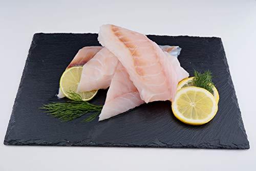 Neuseeländischer Sterngucker Fischfilet - giant stargazer filet / roh / Wildfang / ohne Haut / tiefgefroren / Südwestpazifik (1500 GR